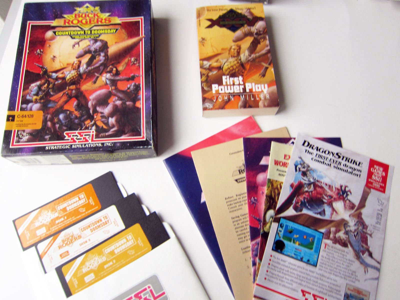 buck rogers countdown to doomsday manual