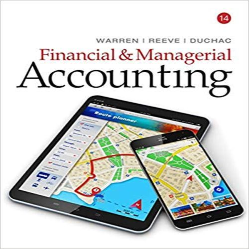 financial and managerial accounting solution manual pdf