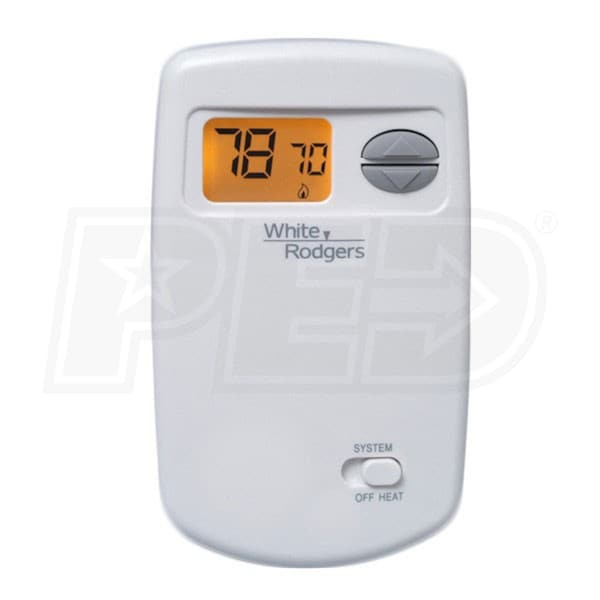 white rodgers thermostat manual reset
