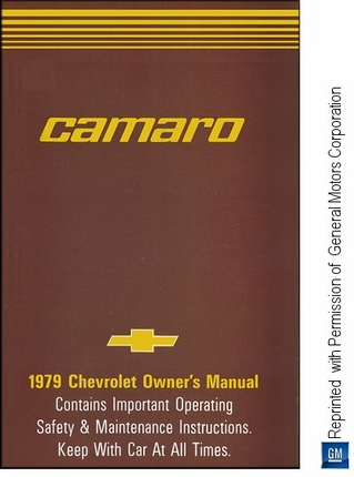 2018 chevy camaro owners manual