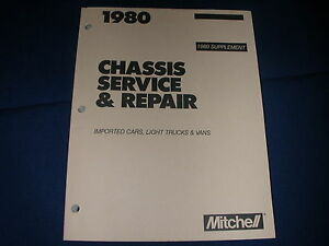 mitchell repair manuals for sale