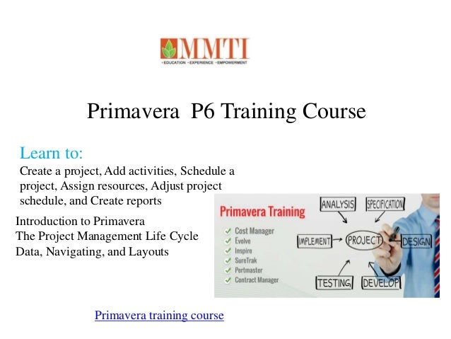primavera p6 training manual pdf free download